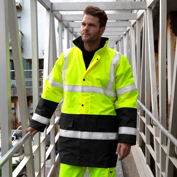 Safe-Guard Motorway 2-Tone Safety Coat