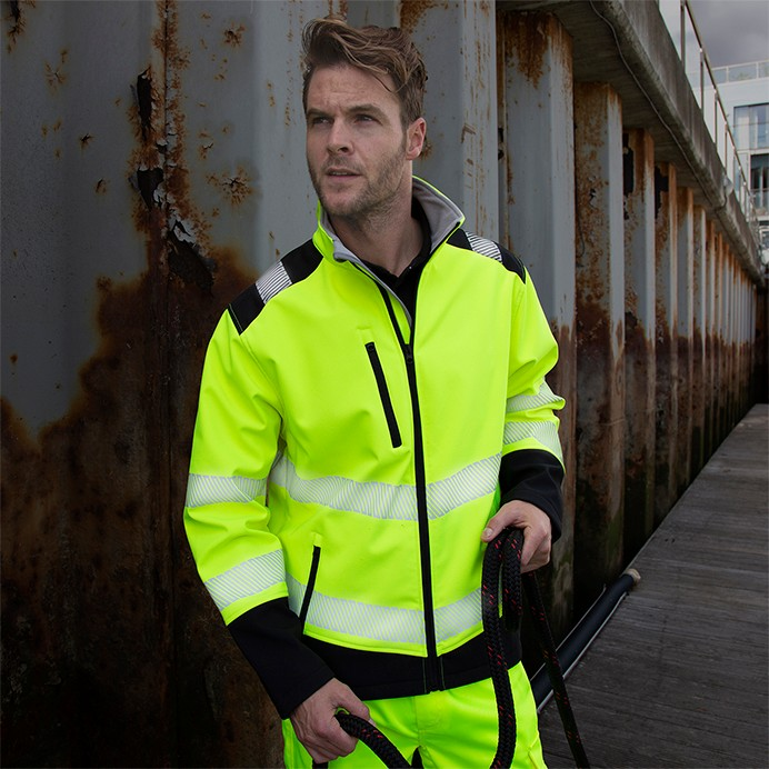 Safe-Guard Printable Ripstop Safety Softshell