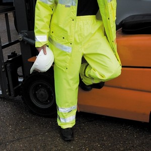 RESULT SAFEGUARD HI-VIZ TROUSERS
