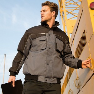 Work-Guard Zip-Sleeve Heavy Duty Jacket