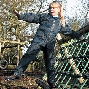 JUNIOR  WATERPROOF JACKET AND TROUSERS