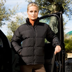 RESULT WOMENS HOLKHAM DOWN FEEL JACKET