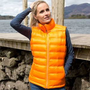 RESULT WOMENS ICE BIRD PADDED GILET