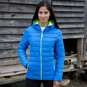 RESULT URBAN WOMENS SNOW BIRD HOODED JACKET