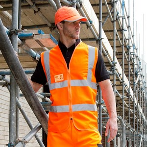 CORE ZIP I.D SAFETY TABARD
