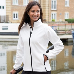 CORE WOMENS PRINTABLE SOFT SHELL
