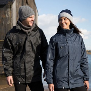 RESULT PRINTABLE 3-IN-1 TRANSIT JACKET WITH SOFTSHELL INNER
