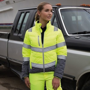 SAFEGUARD WOMENS SOFT PADDED SAFETY JACKET