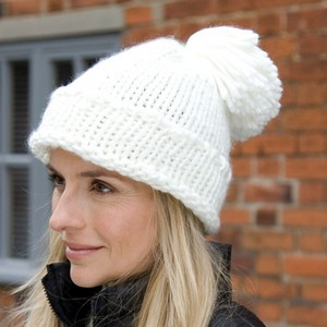 Winter Essentials Spider Pom Pom Hat