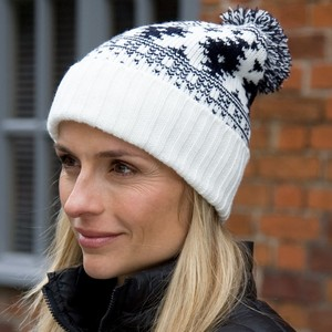 Winter Essentials Deluxe Fair Isle Hat