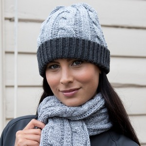 RESULT WINTER ESSENTIALS SHADES OF GREY HAT