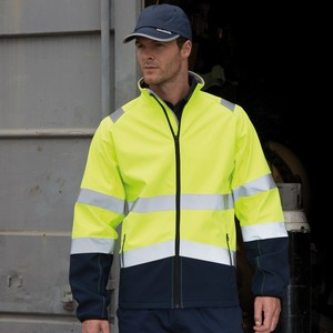 SAFEGUARD PRINTABLE SAFETY SOFT SHELL JACKET