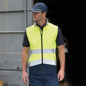 SAFEGUARD PRINTABLE SAFETY SOFT SHELL GILET