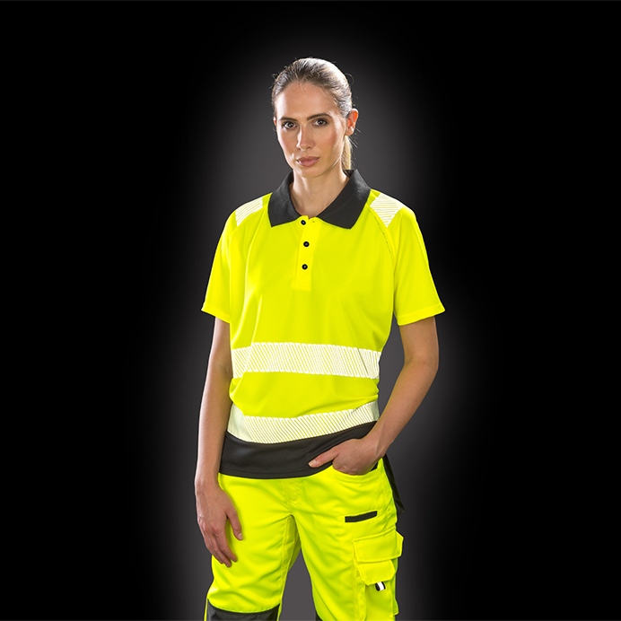 Genuine Recycled Safe-Guard Recycled Safety Polo