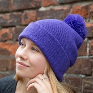 Winter Essentials Pom Pom Beanie