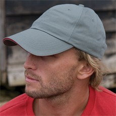 RESULT HERRINGBONE CAP WITH SANDWICH PEAK