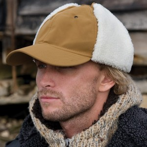 RESULT FAUX SHEEPSKIN HAT