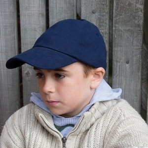 RESULT JUNIOR LOW PROFILE HEAVY BRUSHED COTTON CAP