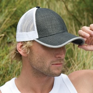 TRUCKERS STRAW LOOK CAP