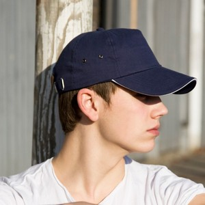 RESULT PRINTERS PLUSH COTTON 5 PANEL CAP