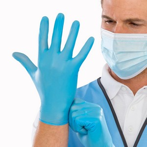 Essential Hygiene Synthetic Vinyl Disposable Gloves (box of 100)
