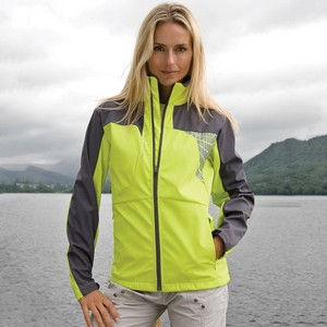 SPIRO WOMENS TEAM 3-LAYER SOFT-SHELL JACKET
