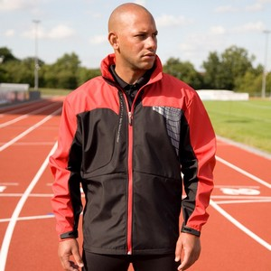 SPIRO MENS TEAM 3-LAYER SOFT-SHELL JACKET