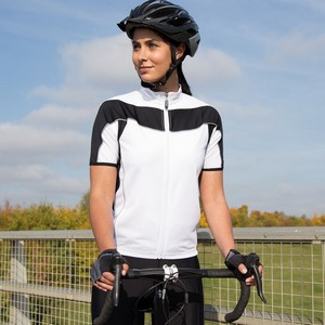 SPIRO WOMENS BIKEWEAR FULL ZIP PERFORMANCE TOP